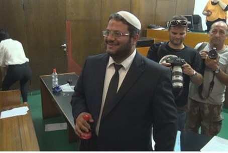 Atty. Itamar Ben Gvir at court