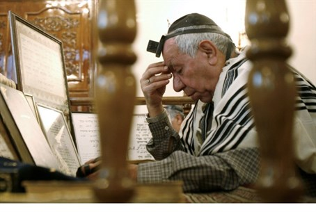 Iranian Jew praying, Tehran