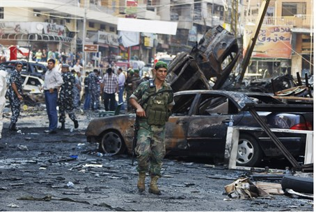 Aftermath of August bombing in Beirut