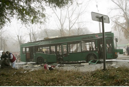 Illustration: Previous Russian bus bombing in