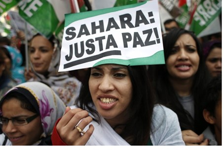 Protest for Western Sahara