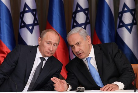 PM Binyamin Netanyahu with Russian President