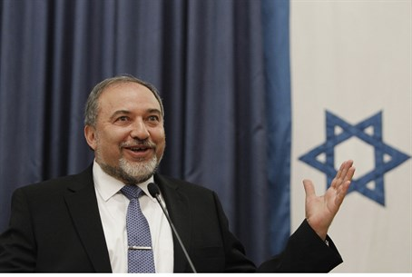 Back in business: FM Avigdor Liberman