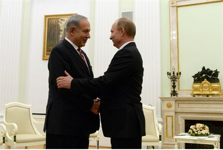 Netanyahu and Putin, Nov. 2013