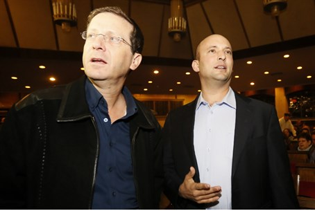 Bennett, Herzog before national elections (Il