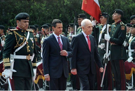 Peres in Mexico