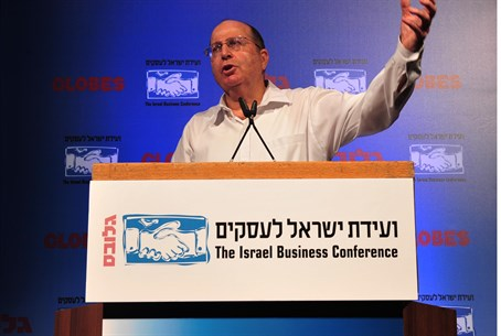 Defense Moshe Yaalon at Israel Business Conf