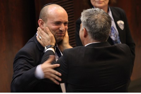 Benett and Lapid: frenemies?