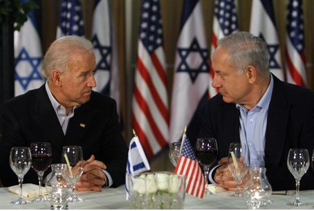 Netanyahu and Biden (archive)