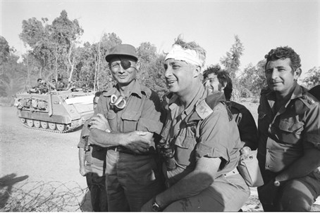 Ariel Sharon during Yom Kippur War