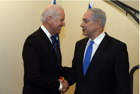 Biden and Netanyahu meet, January 13, 2014