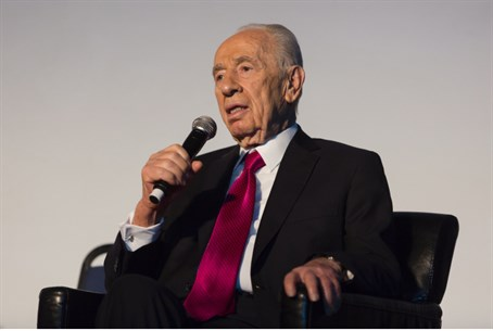 President Shimon Peres at the 50th anniversar