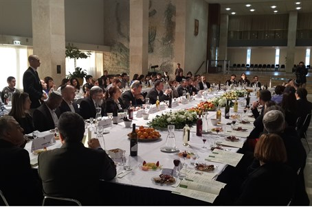 First Knesset Tu Bishvat Seder led by Tzohar