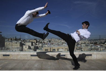 Martial arts in Jerusalem (file)