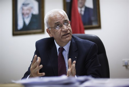 PA chief negotiator Saeb Erekat
