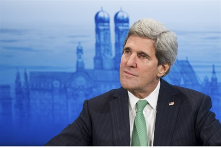 John Kerry speaks at the annual Munich Securi