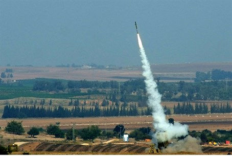Israel's Iron Dome in action (file)