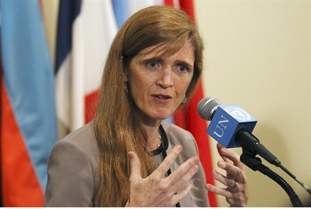 U.S. Ambassador Samantha Power