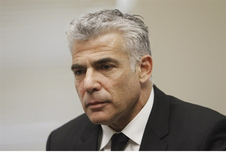 Bottom of the list. Yair Lapid