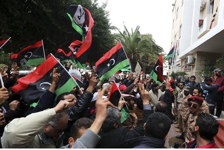 Protest in Libya (archive)