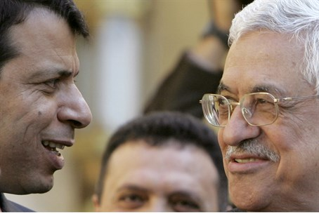 Dahlan and Abbas in better times