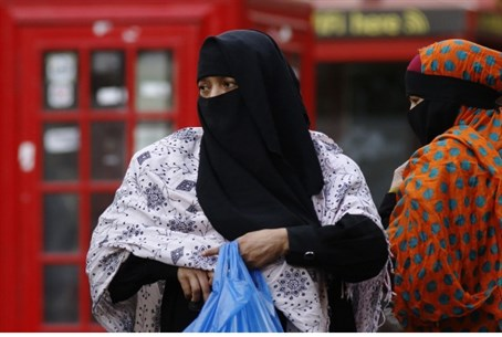 Muslim women in London