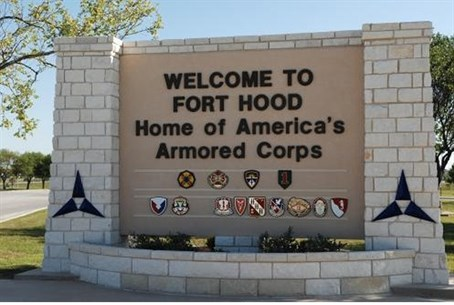 Entrance to Fort Hood