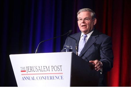 Menendez at the Jerusalem Post Conference