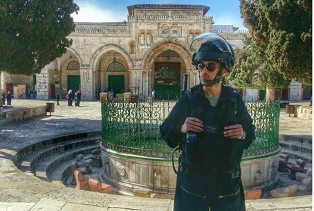 Police on the Temple Mount