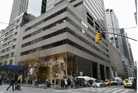 Iran-owned building at 650 Fifth Avenue in Ne