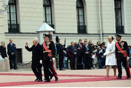 Peres in Oslo