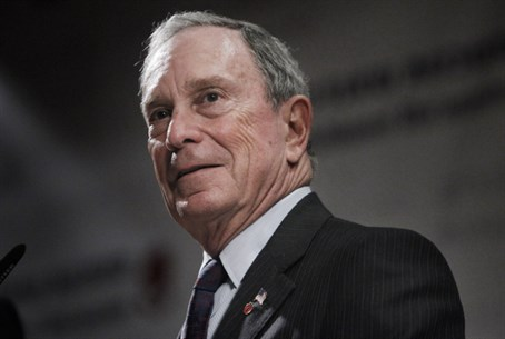 Michael Bloomberg in Jerusalem