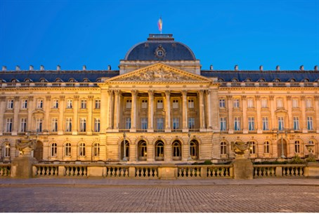 Brussels' Royal Palace