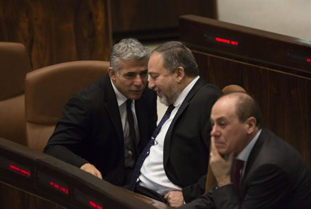 Lapid and Liberman - a new partnership?
