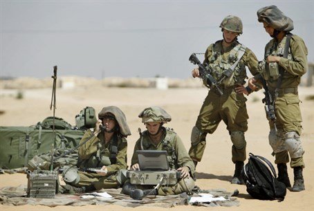 IDF training drill