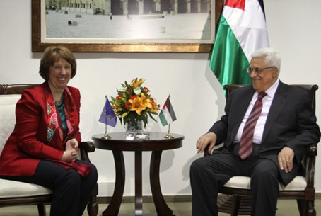 EU Foreign Policy Chief Ashton and PA Chairma