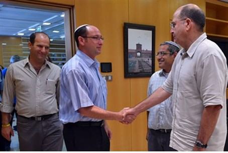 Fathers with Yaalon.
