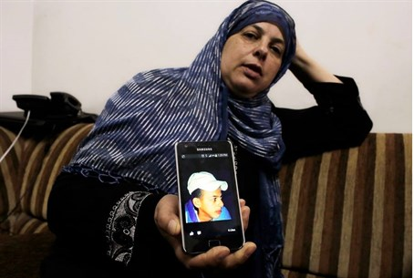 Suha Khder, mother of murdered teen Mohammed,