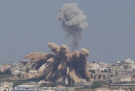 IAF airstrike on Gaza (file)