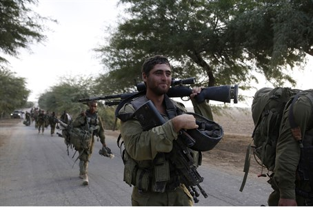 Job well done: IDF soldiers leave Gaza as cea
