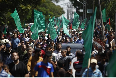 "Hamas ""victory rally"" in Gaza"