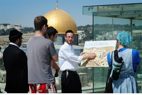 The Temple Mount is Judaism's holiest site