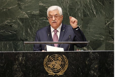 Mahmoud Abbas addresses the UN General Assemb