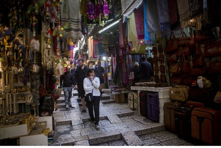 Arab shuk (market), Jerusalem's Old City
