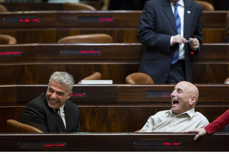 Yesh Atid ministers laugh their way to elections