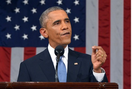 U.S. President Barack Obama delivers 2015 State of the Union address