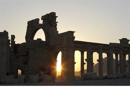 Ancient ruins under threat: Palmyra, Syria