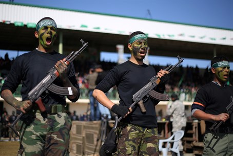 Hamas training camp in Gaza (file)