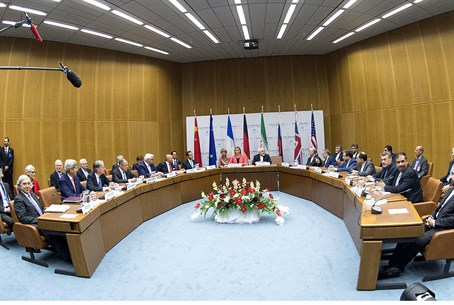 Foreign ministers convene after signing Iran nuclear deal in Vienna