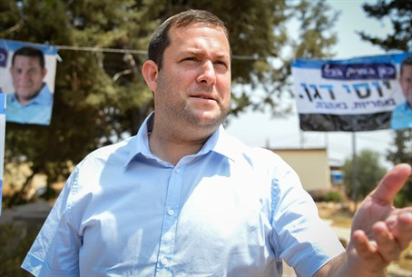 Samaria Regional Council head Yossi Dagan